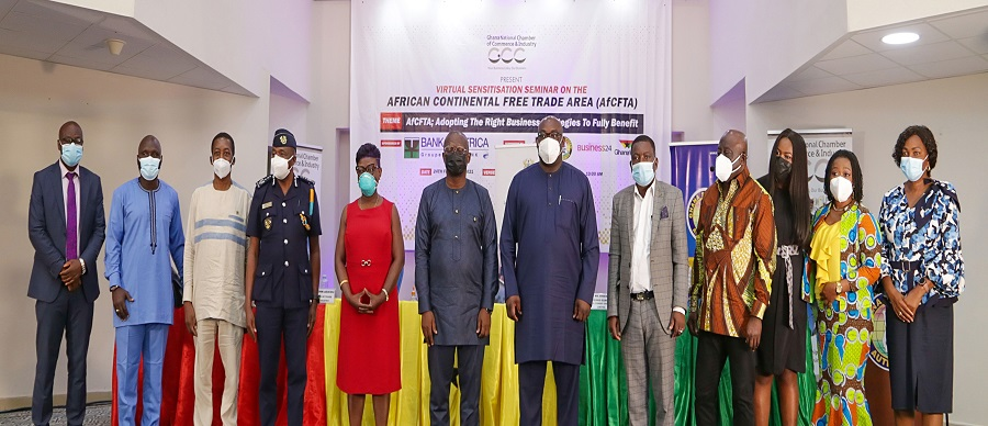 GNCCI SENSITISATION SEMINAR ON THE AFRICAN CONTINENTAL FREE TRADE AREA (AfCFTA)