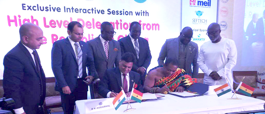 GNCCI and PHD Chamber of Commerce,India signs MOU