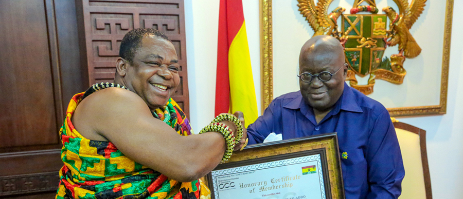 GNCC Pays Courtesy Call on Prez Akufo-Addo