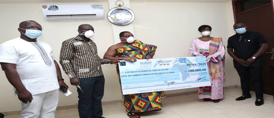 GNCCI DONATED GH¢100,000 INTO THE NATIONAL COVID-19 TRUST FUND