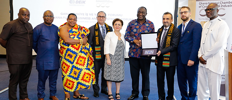 GHANA-TURKEY BUSINESS FORUM HELD