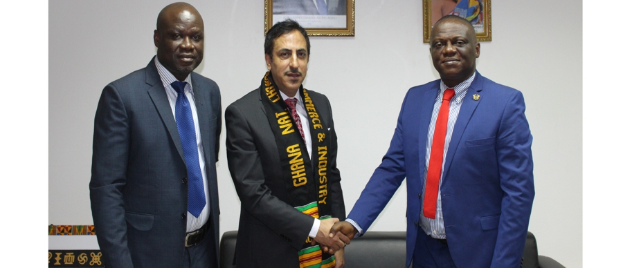 LEBANESE AMBASSADOR VISITS THE GNCCI FOR COLLABORATION
