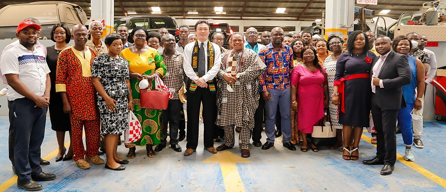 BUSINESS TOUR TO TOYOTA GHANA LTD & JAPAN MOTORS GHANA LTD