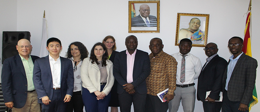 GNCCI receives delegation from World Bank Group
